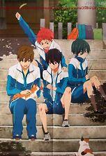 High Speed Free / Ensemble Stars poster promo anime Iwatobi Swim Club big