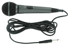 Multipurpose Dynamic Microphone w 12 feet Cable On Off Switch Mic Stand Clamp