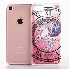 Coloful Constellation Dynamic Quicksand Unicorn Case Cover For iPhone 6S 7 Plus