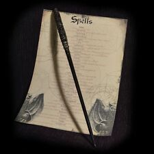 Severus Snape Wand with Spell list Ideal Gift HP