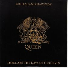 "QUEEN  Bohemian Rhapsody PICTURE SLEEVE 7"" 45 rpm record + juke box strip RARE!"