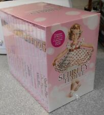 The Shirley Temple Ultimate 15 DVD Boxed Set VERY RARE BRAND NEW W LOBBY CARDS