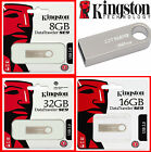 KINGSTON 8GB 16GB 32GB SE9 USB 2.0 MEMORY STICK PEN FLASH DRIVE CARD KEY METAL