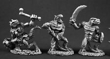 Lizardmen 2 Reaper Miniatures Dark Heaven Legends Reptus Lizardman Dragonman