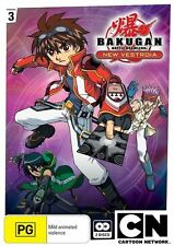 Bakugan: New Vestroia Collection 3 - Show Down! DVD NEW