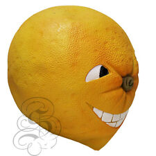 Latex Fruit Angry Orange Funny Happy Face Cosplay Props Fancy Party Mask