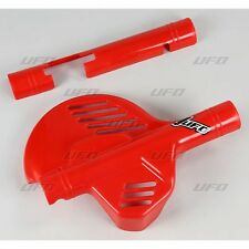 UFO Motocross Front Disc Guard Honda CR 125 1987 - 1989 OEM Red 2605
