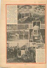 Salon de l'Auto Automobile Grand-Palais Paris/Tracteur Expo 1935 ILLUSTRATION
