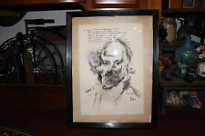 Unusual Shakespeare Drawing Painting By Mallord-Shakspeare-Creepy & Odd-Dark