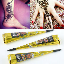 Body Art PaintNatural Herbal Henna Black Cones Temporary Tattoo kit  Mehandi Ink