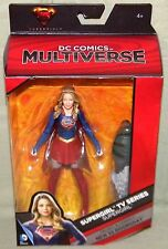 "DC COMICS MULTIVERSE SUPERGIRL TV SERIES 6"" FIGURE NEW 52 DOOMSDAY BAF"