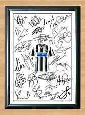 Newcastle United Squad Team 2013 14 NUFC Sissoko Signed Autograph Photo Print A4