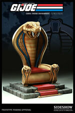 "GI JOE Sideshow Exclusive COBRA COMMANDER THRONE 12"" 1/6 Sixth Scale SEALED NEW"