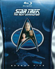 Star Trek: The Next Generation - Season 5 [Blu-ray Boxset] [6 discs] [Region B]