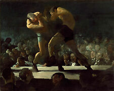 Images of America: George Bellows: Boxers: Club Night - Fine Art Print