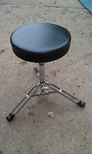 "9S30 TKO TAIWAN DRUMMERS SEAT: 11"" PADDED SWIVEL SEAT, 18"" NOMINAL HEIGHT, GC"