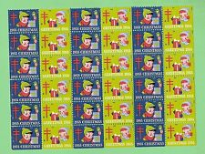 #T30.  1955 TB CHRISTMAS USA STAMP CINDERELLAS