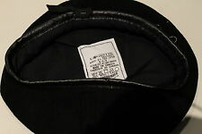 Canadian Forces Black Armoured Corps Leather Sweatband Beret Size 6 5/8