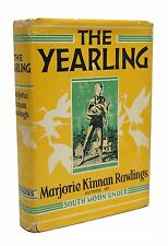The Yearling First Edition Marjorie Kinnan Rawlings 1st Printing Pulitzer 1939