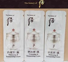 The History of WHOO Seol Whitening & Moisturizing Cream 70pcs Feb of 2019 Latest