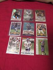 MINNESOTA VIKINGS 9X ROOKIE /AUTO/ #/150 LOT AP-WRIGHT-LINE-SMITH-CHILDS BIN NOW