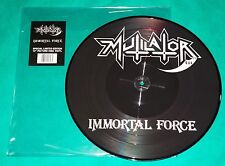 Mutilator - Immortal Force + Poster BRAZIL Picture Disc 2011 Mutilation COGUMELO