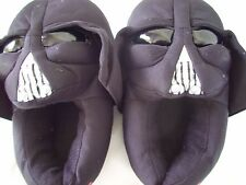 STAR WARS DARTH VADER HOUSE SLIPPERS Youth Size L 2/3 NWOT V CLEAN