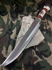 "Marbles Stag Fixed Bowie Knife Hunting 21 7/8"" Overall Hunter Stainless 530"