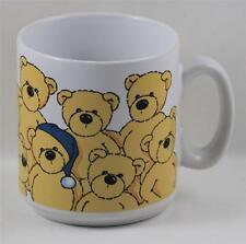 Coffee Cup Mug Nici Teddy Bear Blue Cap