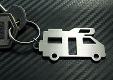 MOTOR HOME Camper Van Mobile Transit High Top Over Cab Keyring Keychain Key Gift