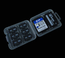 8 in 1 SD MS Micro SD TF Memory Card Storage Holder Carrying Box plastic Case