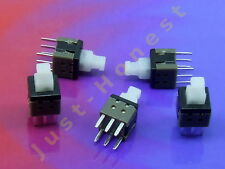 Stk. 5 x MINI TASTER Schalter / Momentary Switch 6x6mm THT PCB Push Button #A696