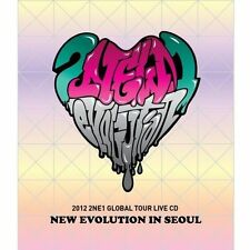 2NE1-[NEW EVOLUTION IN SEOUL] 2012 GLOBAL TOUR LIVE CD+Booklet+Card K-POP Sealed