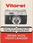 Voigtlander Vitoret L Instruction Booklet, More Camera Manuals Listed.