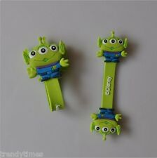 2pcs of Three Eyed Alien Foldable Earphone Headphone Wire Cord Holder Organizer