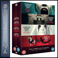 AMERICAN HORROR STORY - COMPLETE SEASONS 1 2 3 & 4  *BRAND NEW DVD BOXSET***