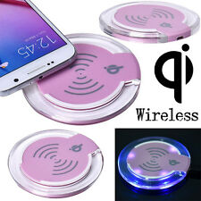 US Qi Wireless Charger Charging Mat Pad For Samsung Galaxy S7/S7 Edge Protable