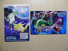 Rare Pokepark Adventure Card & Phone Card Japanese Pokemon Cards Rayquazza