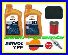 Kit Tagliando SUZUKI BURGMAN 400 AN 01 Filtro Olio Aria Candela NGK REPSOL 2001