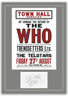 The Who Torquay 1965 Concert Poster and Autographs Memorabilia Poster 2 Sizes