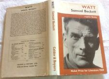 Samuel Beckett Watt in D/J ** RARE TITLE **