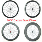 700C carbon fiber bike wheel front wheel 38mm 50mm 60mm 88mm profile road racing
