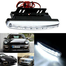 8LED Daytime Driving Running Light DRL Car Fog Lamp Waterproof DC 12V Luci a LED