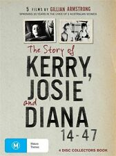 The Story Of Kerry,Josie Diana 4 disc collector's book set brand new Gillian A
