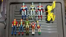 Captain Planet and planeteers figurines