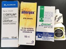 The Red Eye Relief Sampler -  Visine LR Replacement Drops - Oxymetazoline HCI