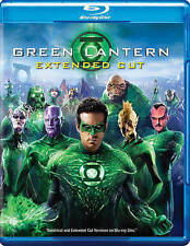 Green Lantern (Blu-ray/DVD, 2011, 2-Disc Set, Extended Cut