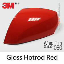 20x30cm FILM Gloss Hotrod Red 3M 1080 G13 Vinyle COVERING Wrap Car Wrapping