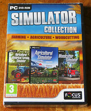 FARMING AGRICULTURE WOODCUTTING SIMULATOR COLLECTION - NEW and SEALED