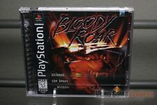 Bloody Roar (PlayStation 1, PS1 1998) FACTORY Y-FOLD SEALED! - ULTRA RARE!